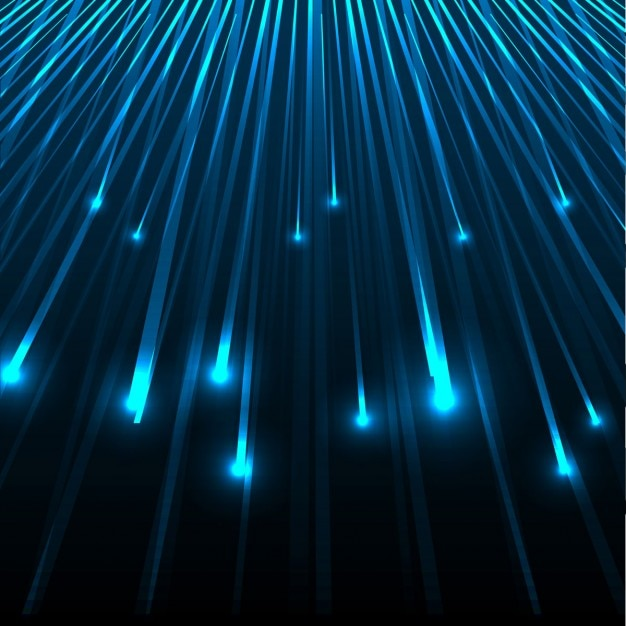 Abstract glowing lines background | Free Vector