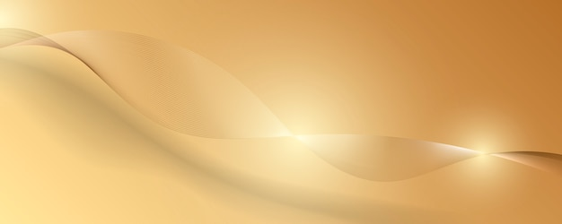 Abstract gold luxury background. vector illustration Premium Vector
