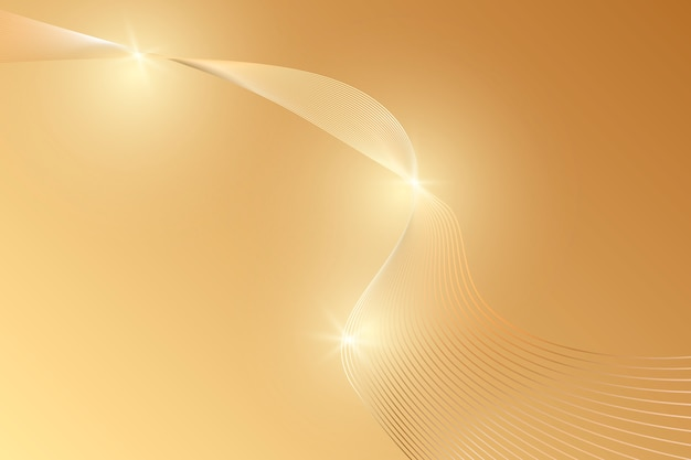 Abstract gold luxury background. Premium Vector