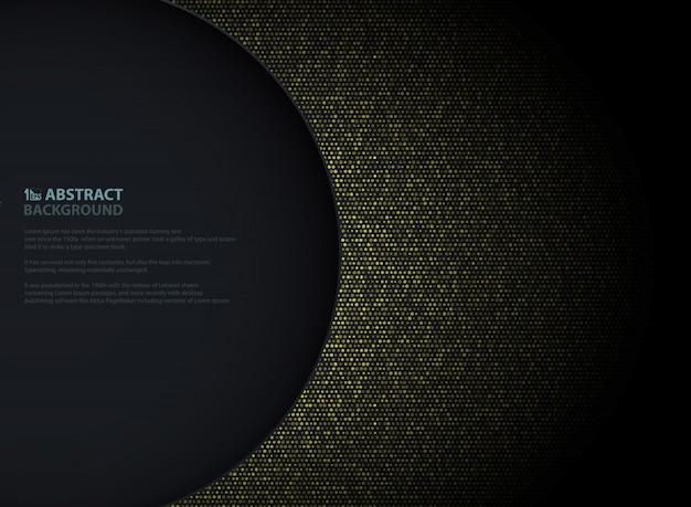 Abstract golden background Premium Vector
