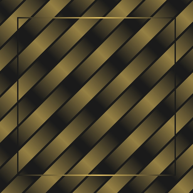 Abstract golden fade spectrum cross frame wallpaper background Premium Vector