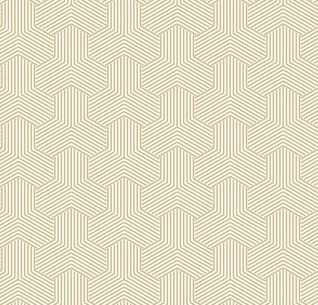 추상적 인 황금 기하학적 패턴 무료 벡터