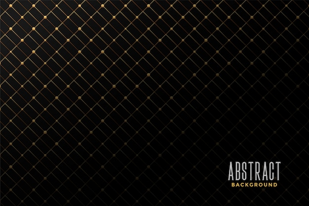 Abstract golden pattern background Free Vector