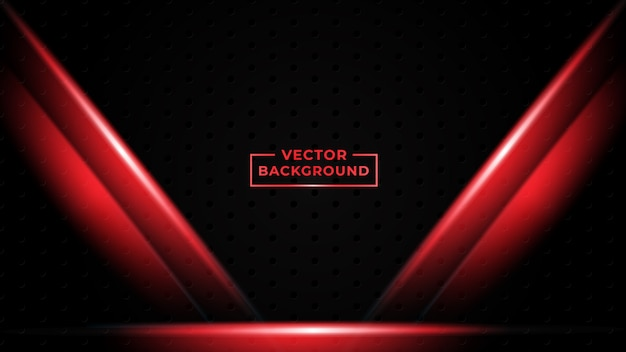 Premium Vector Abstract Gradient Background Red Color