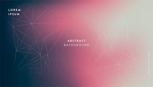 Abstract gradient background Free Vector