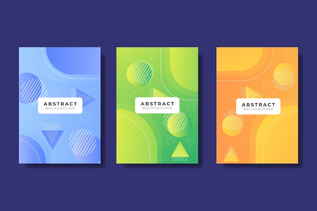 Abstract gradient models cover set Free Vector