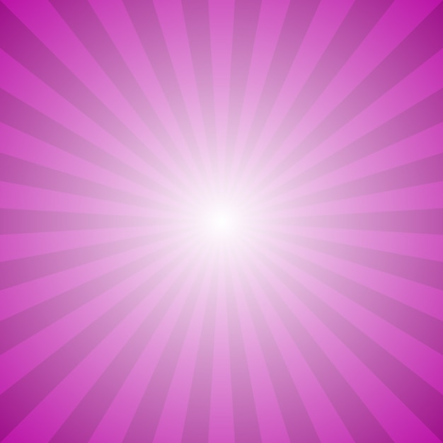 Abstract gradient ray burst background - hypnotic vector graphic from radial rays Free Vector