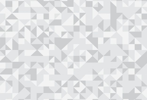 Abstract gray geometric pattern background Free Vector