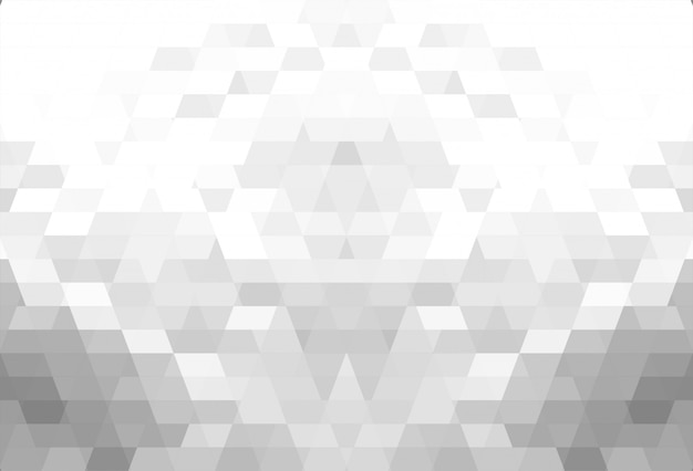 Abstract gray geometric shapes beautiful background Free Vector