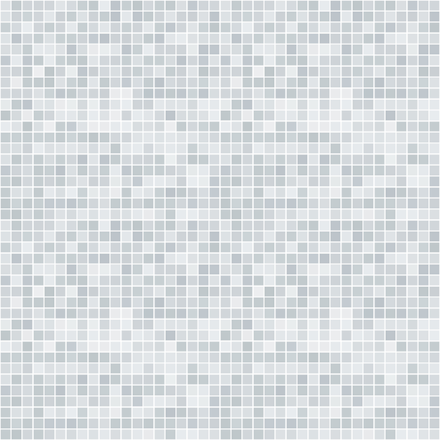 Abstract Grayscale Pixelated Seamless Pattern Vector
