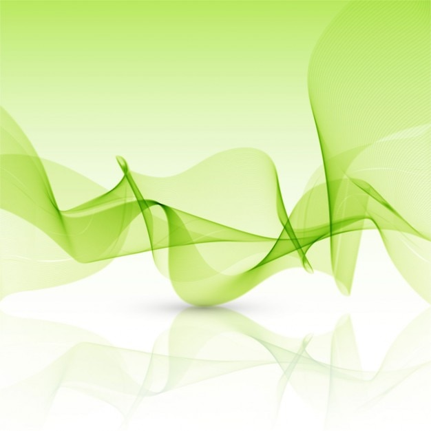 wavy green background vector - photo #28