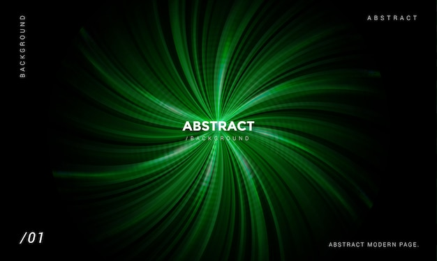 Abstract green background Premium Vector