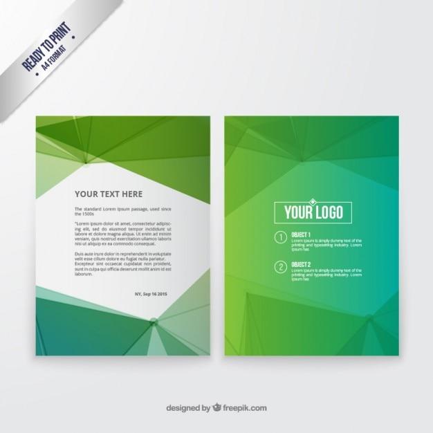 green brochure