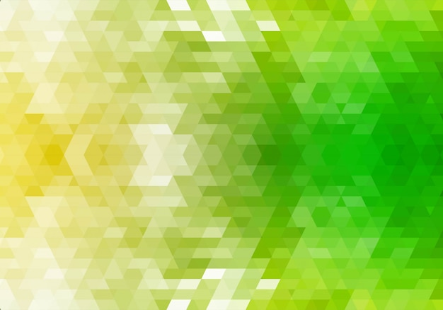 Abstract green geometric shapes background Free Vector