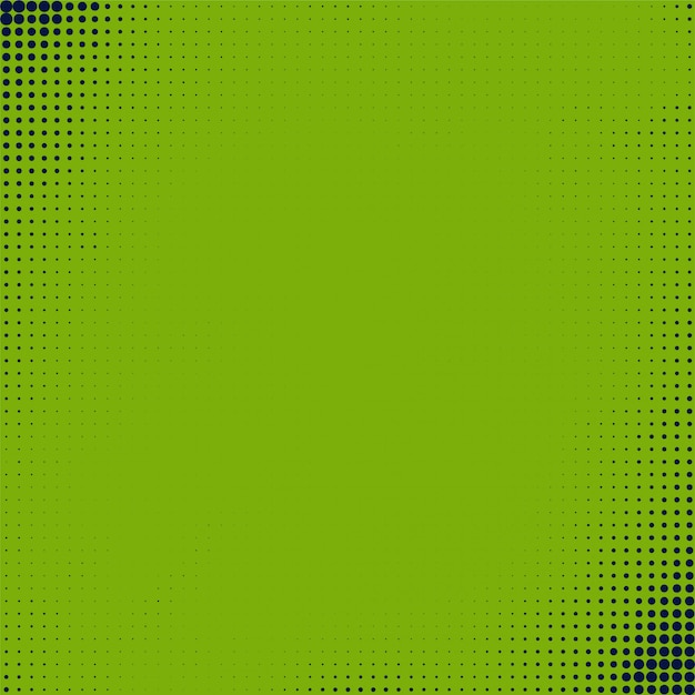 Abstract green halftone background Free Vector