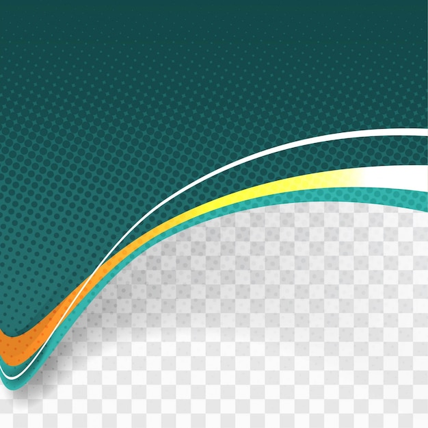 Download Vector Abstract Green Wave Background Vectorpicker