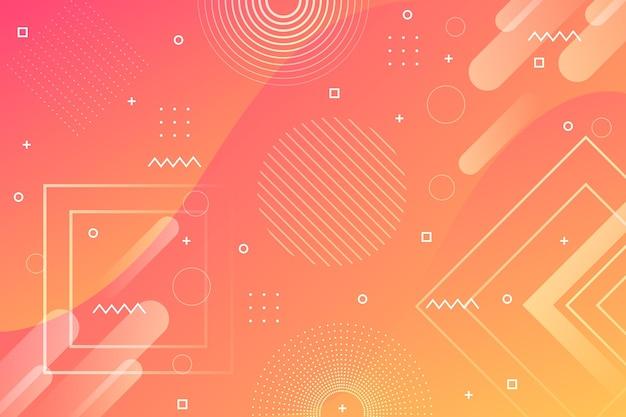 Абстрактный полутоновый стиль фона Бесплатные векторы