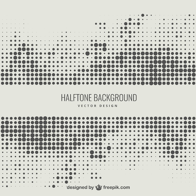 Line Art Vs Halftone : Abstract halftone background vector free download