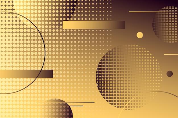 Abstract halftone background Premium Vector