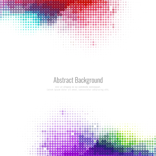 Абстрактные полутоновых красочный фон Бесплатные векторы
