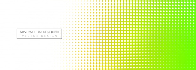 Abstract  halftone colorful banner background Free Vector