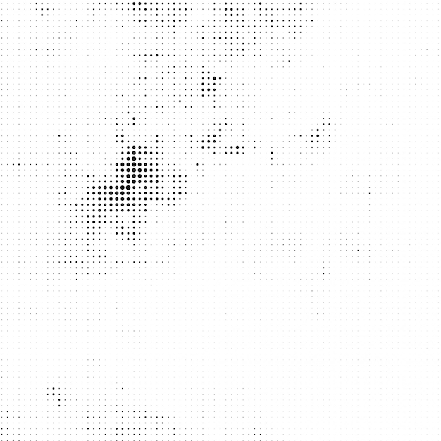 Abstract halftone decorative background Free Vector