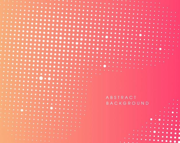 Абстрактный дизайн полутонов Premium векторы