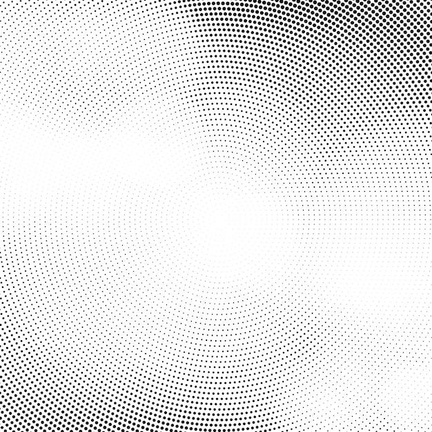 Abstract halftone elegant design background Free Vector