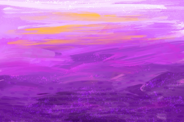 Abstract hand painted background Free Vector