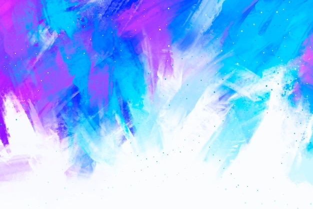 Abstract hand painted background Premium Vector