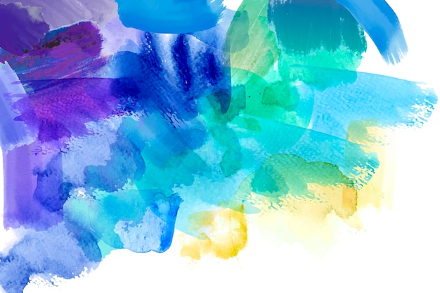 Abstract hand painted wallpaper concept Free Vector