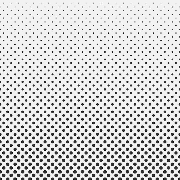 Abstract hexagon halftone pattern Premium Vector