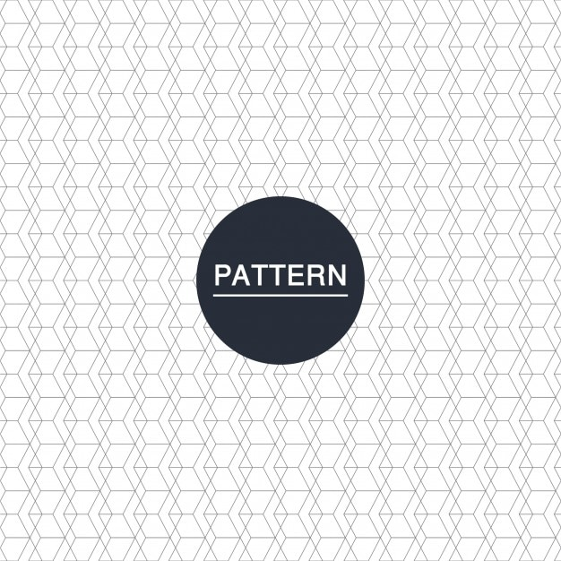 Abstract hexagonal pattern Vector | Free Download