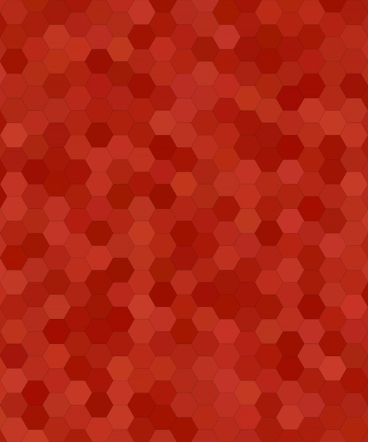 Download Vector Abstract Hexagonal Tile Mosaic Background