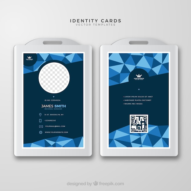 Id Card Designs Free Vectors Stock Photos Psd