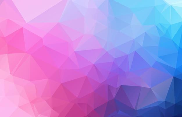 Abstract irregular polygon background Premium Vector