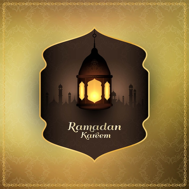 Abstract islamic festival religious background Free Vector