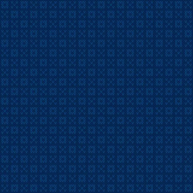 抽象的なニットセーターのパターンデザイン Premiumベクター