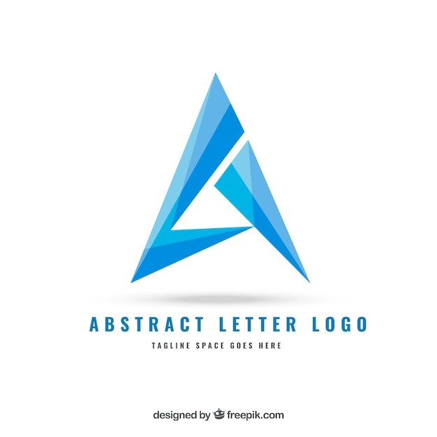abstract letter logo free vector