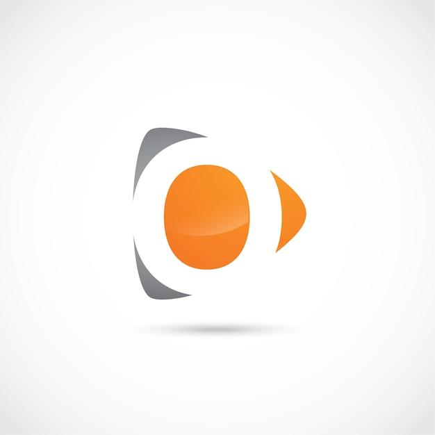 abstract letter o logo design vector premium download