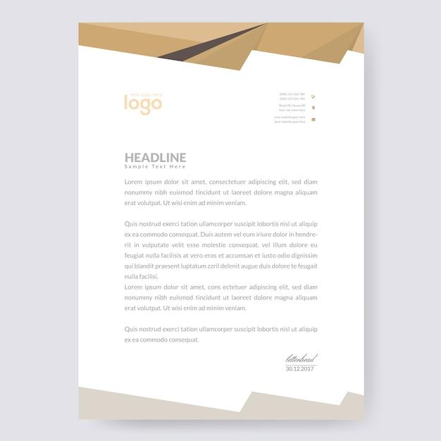 Abstract Letterhead Designs