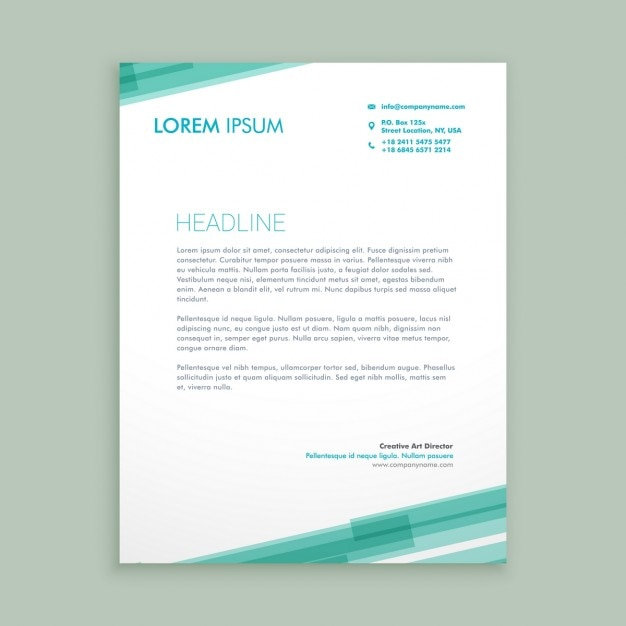 Abstract letterhead template with green lines vector free download abstract letterhead template with green lines free vector spiritdancerdesigns Choice Image