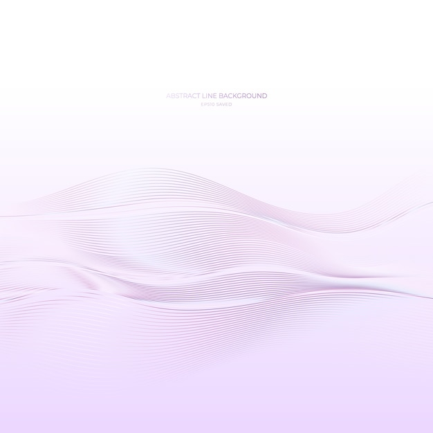 Абстрактный фон линии, современные волны. Premium векторы
