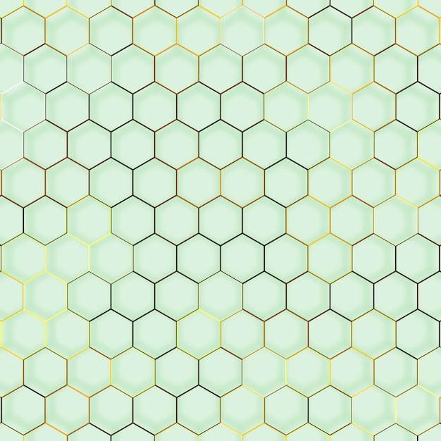 Abstract line hexagon geometric texture Free Vector