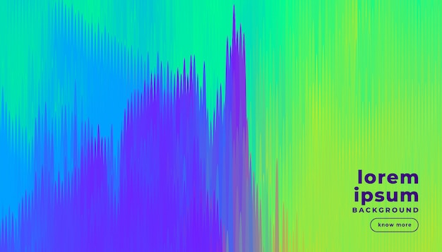 Abstract lines background in bright colors Free Vector