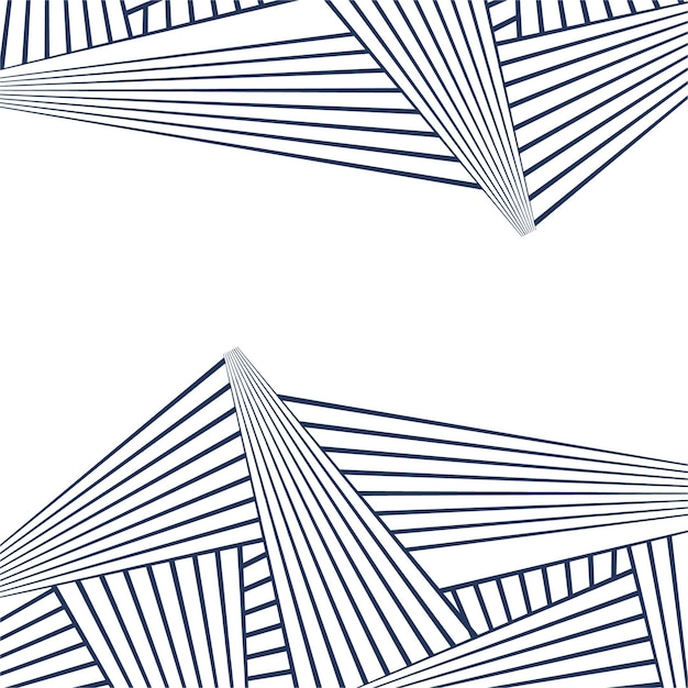 Abstract lines geometric pattern Free Vector
