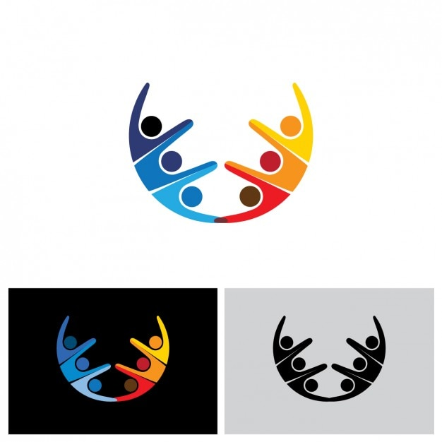 Abstract logo design Vector | Free Download