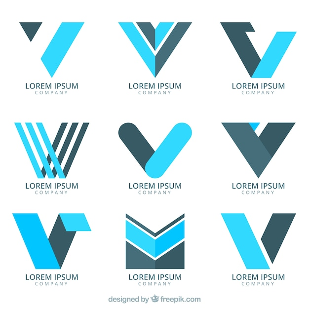 letter v vectors photos and psd files free download