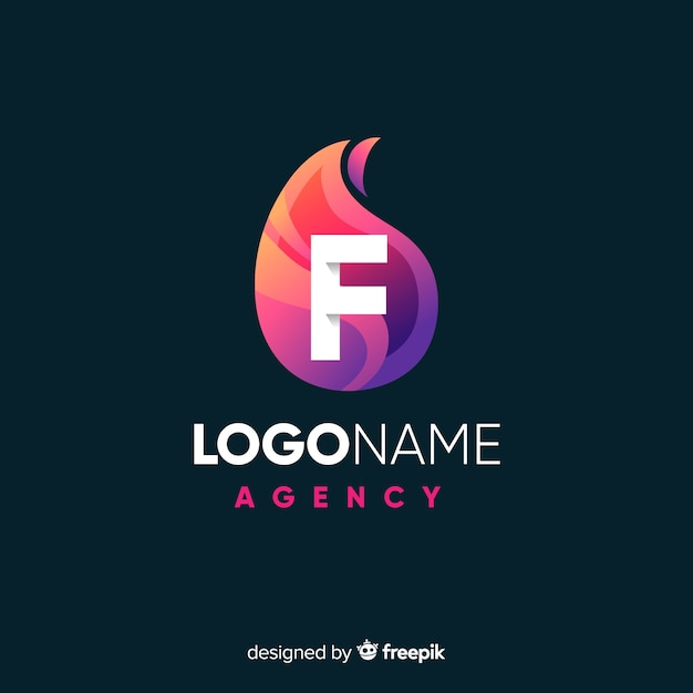 Abstract logotype Free Vector