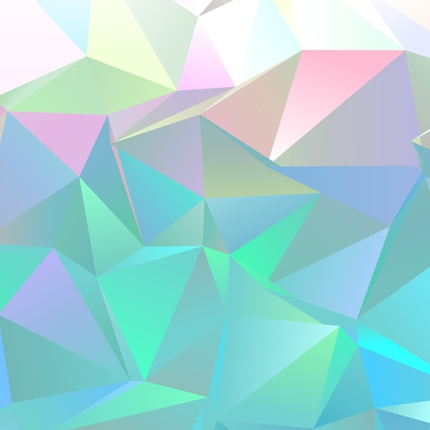 Abstract low poly background  Free Vector